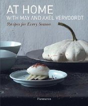 AT HOME with May and Axel Vervoordt, Recipes for Every Season Book Cover as seen on l&l life - linenlavenderlife.com