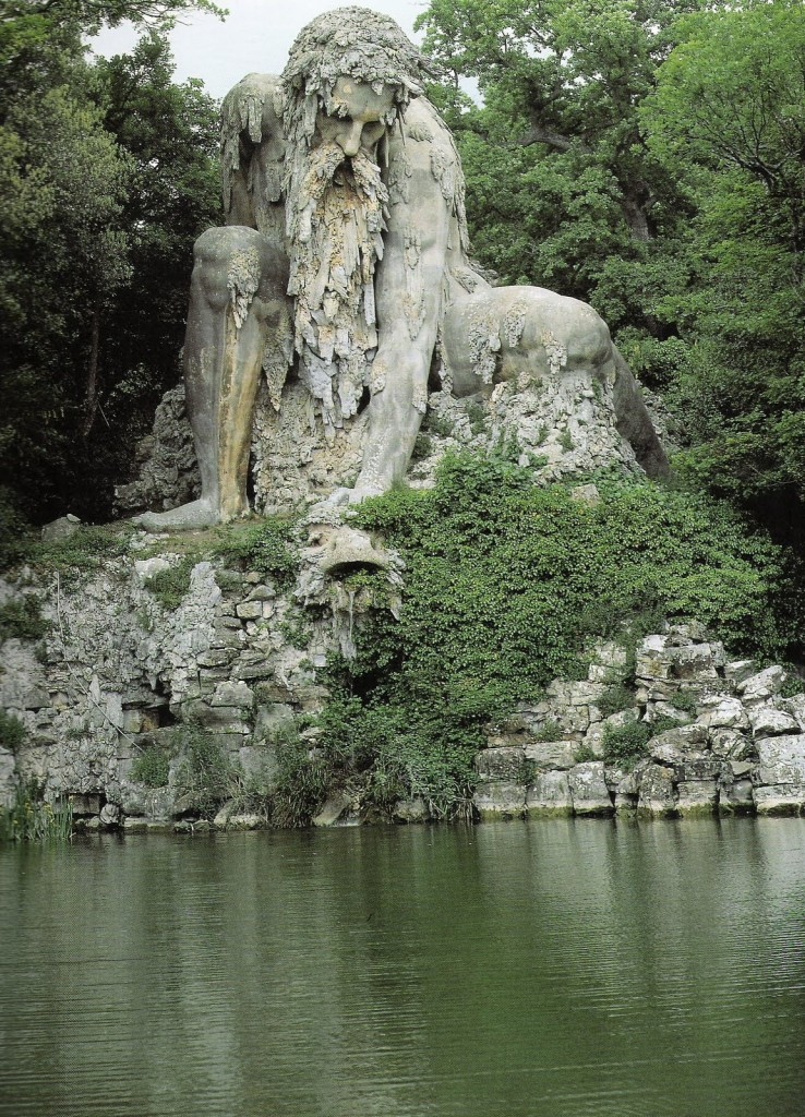 "The mountain God ""Appennino"" by Giambologna edited by lb for linenandlavender.net, post:  http://www.linenandlavender.net/2010/02/appennino-by-giambologna.html"