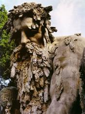 Giambologna - Appennino (particolare, Firenze, Parco della villa di Pratolino, 1580)