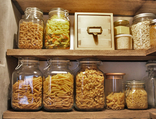 l&l at home-our pantry-image by L for Thinking Outside the Box - www.linenlavenderlife.com