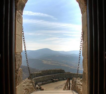 open drawbridge, image by Beatbull, Flickr, as seen on linenlavenderlife com